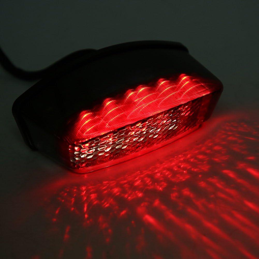 Qiilu Indicatore di direzione posteriore a LED affumicato per 900 1000 S2R S4 S4R S4 1994-2008