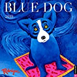 #7: Blue Dog 2019 Wall Calendar