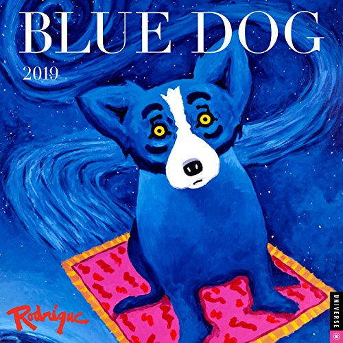 Blue Dog 2019 Wall Calendar
