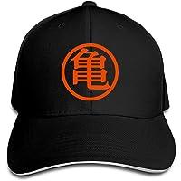 Hittings Dragon Ball Z Kame Logo Adjustable Casquette Baseball Hip Hop Cap Black