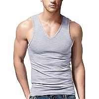 Gootuch Men's Basic Tank Tops Undershirt for Men