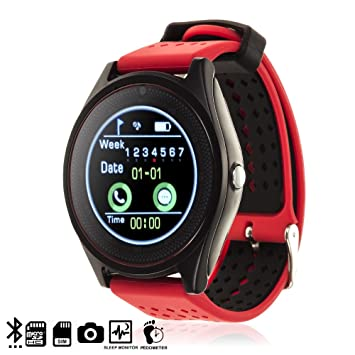 DAM TEKKIWEAR. SMARTWATCH Bluetooth AK-V10 con SIM, Micro SD ...