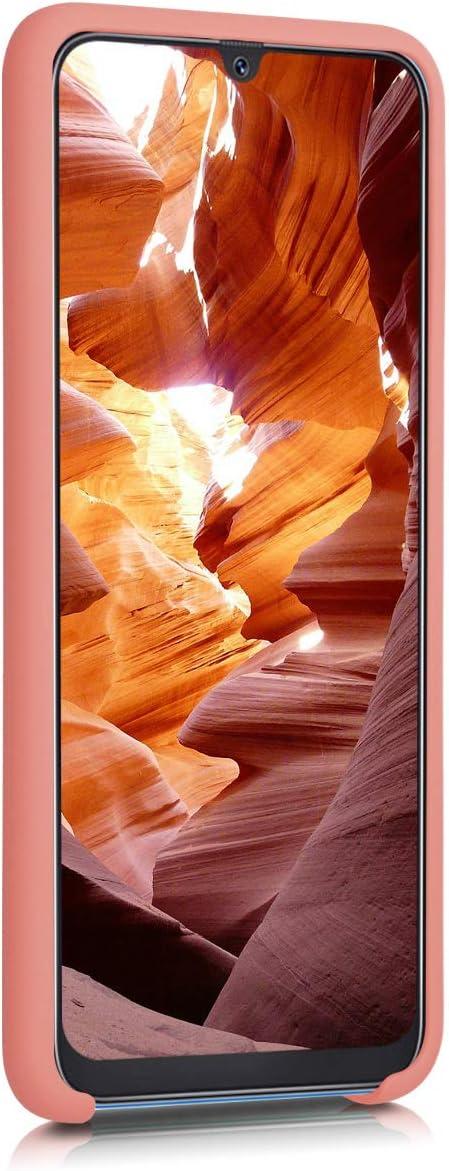 Carcasa de TPU para tel/éfono m/óvil kwmobile Funda para Samsung Galaxy A50 Cover Trasero en Rosa Palo Mate