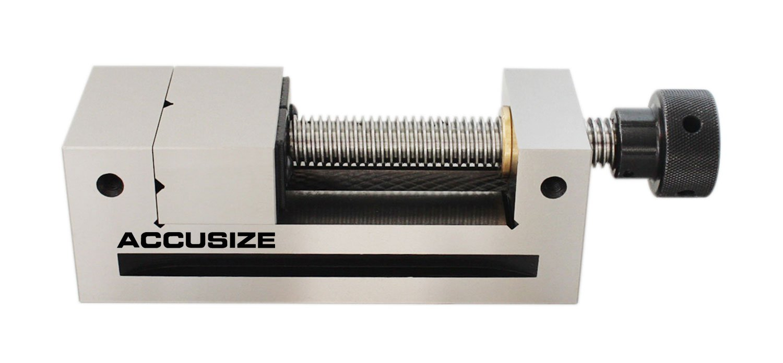 AccusizeTools - Metric Precision Toolmaker's Vises, Parallelism 0.003mm/100mm, Squareness 0.005mm/100mm (73mm)