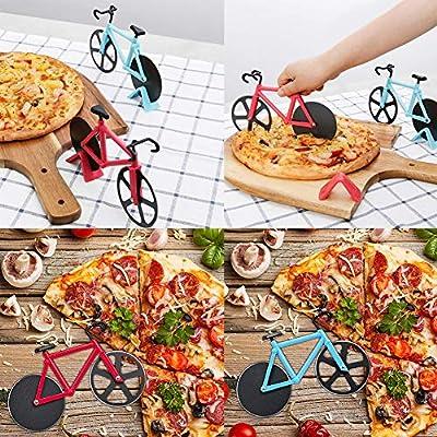 Compra BESTZY 2pcs Cortapizzas con Recubrimiento Antiadherente ...
