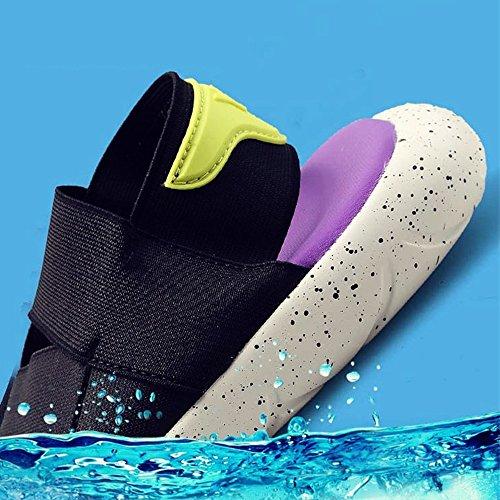 Da Traspiranti UK7 Spiaggia 5 1 Colore 8 EU41 dimensioni Estate HUO Antiscivolo Uomo CN42 Pantofole Sandali TyWEwxFc