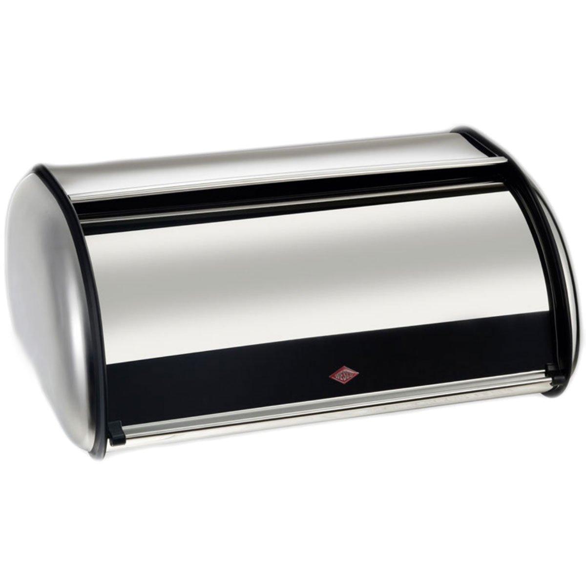 Wesco 212 104-41 Rolling Bread Bin Stainless Steel