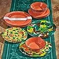 Tag Veranda Melamine Dinner Plates - Set of 4