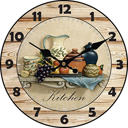 Fruit Clock - 6