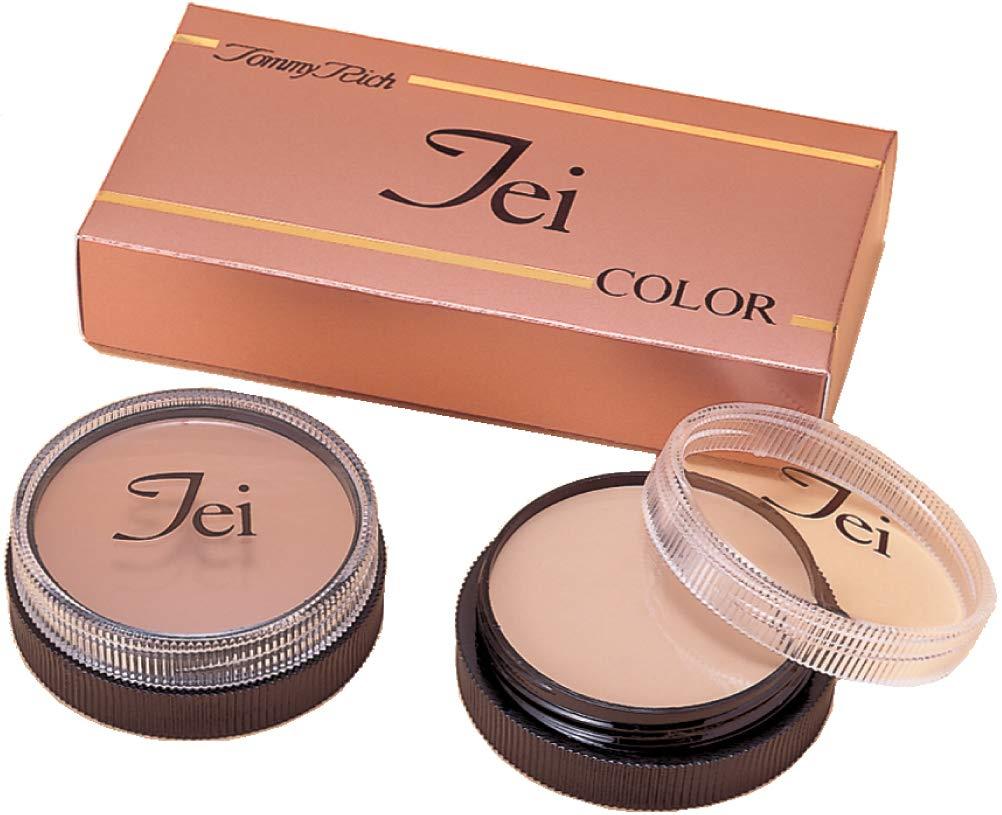 色彩学に基づいたシミアザニキビの跡消し☆濃い皮膚の変色をカバー【TEIカラー スポットカバー1&2】 B07BRMKNFY