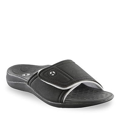 ea41525b4b75 Orthaheel Men s   Women s Kiwi Slide Sandals (Men 5   Women6 Black ...