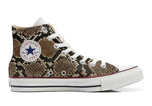 Salida Amplia Gama De CONVERSE personalizzate All Star Sneaker unisex (Prodotto Artigianale) pitonate Venta Comprar kzfrZ