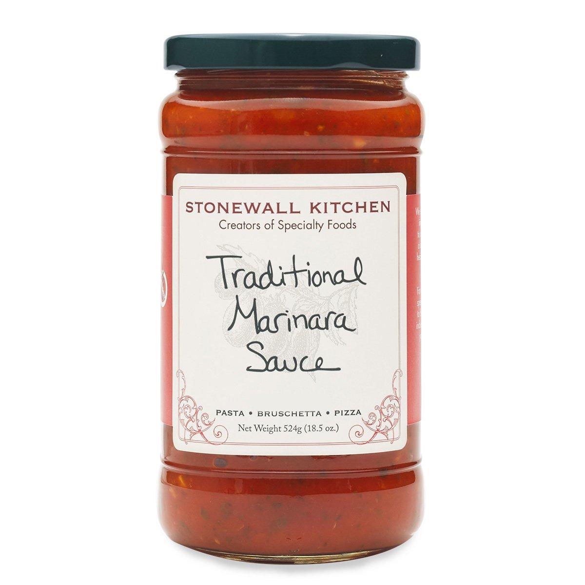 Stonewall Kitchen Traditional Marinara Sauce, 18.5 Ounces
