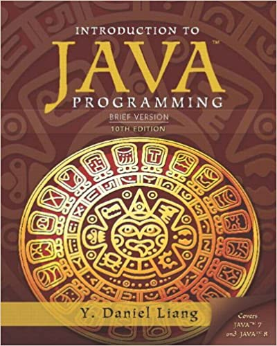 Introduction To Java Programming Brief Version 10th Edition Y