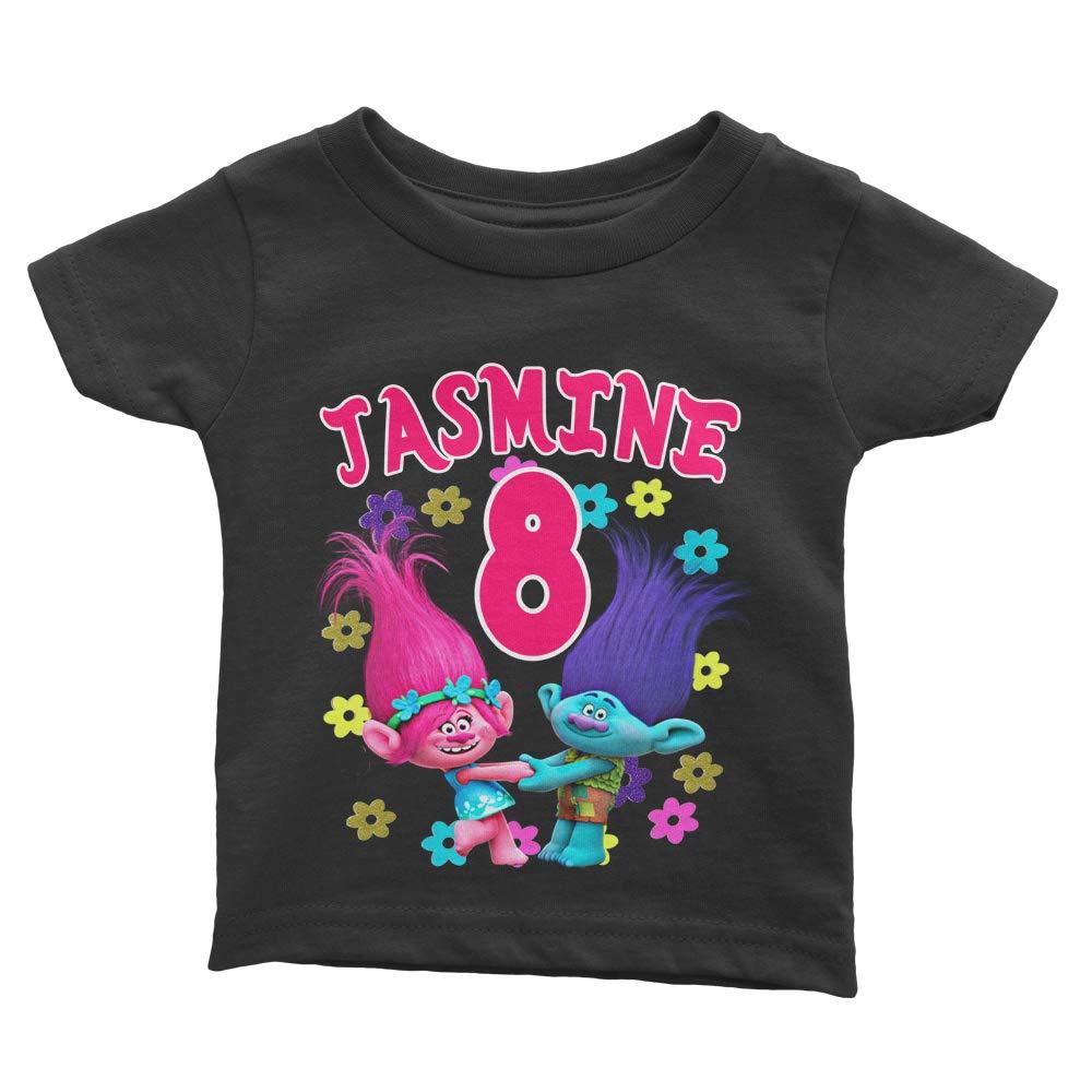 Personalize Trolls Birthday Shirt
