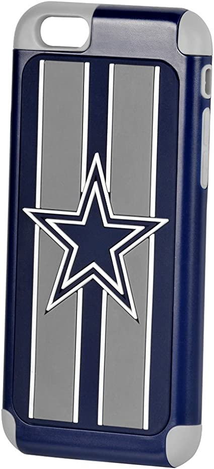 Dual Hybrid 2-Piece TPU Case for Apple iPhone 5//5s Forever Collectibles - NFL Dallas Cowboys
