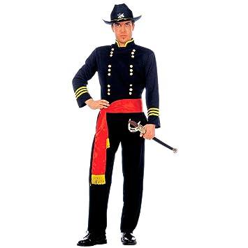 NET TOYS Costume de général soldat états du Nord déguisement de général  général nordiste officier cavalerie dc720f7d6dd