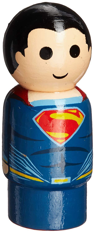 Superman Wacky Wobbler and Pin Mate 2 Piece Gift Bundle