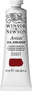 Winsor & Newton , Alizarin Crimson Artists' Oil Colour Paint, 37ml Tube, 37-ml