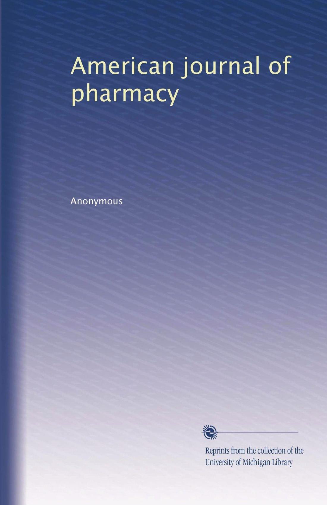 Download American journal of pharmacy (Volume 34) pdf