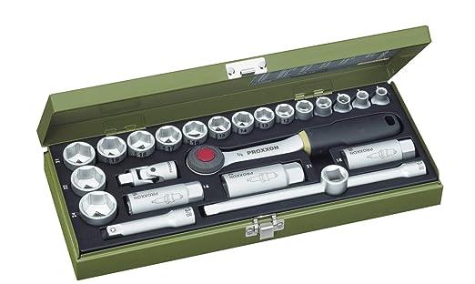 Tama/ño VZ 8 Proxxon 23 321 Vaso y Punta XZN 1//2 Longitud Total 55mm