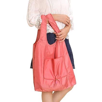 Hope123 Portable Foldable bag /&Wheeled Shopping Cart