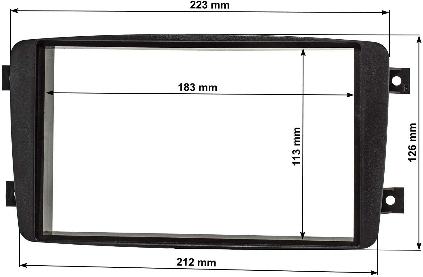 Baseline (Set) Mercedes C-Klasse W203, CLK W209, Viano W639, Vito W638