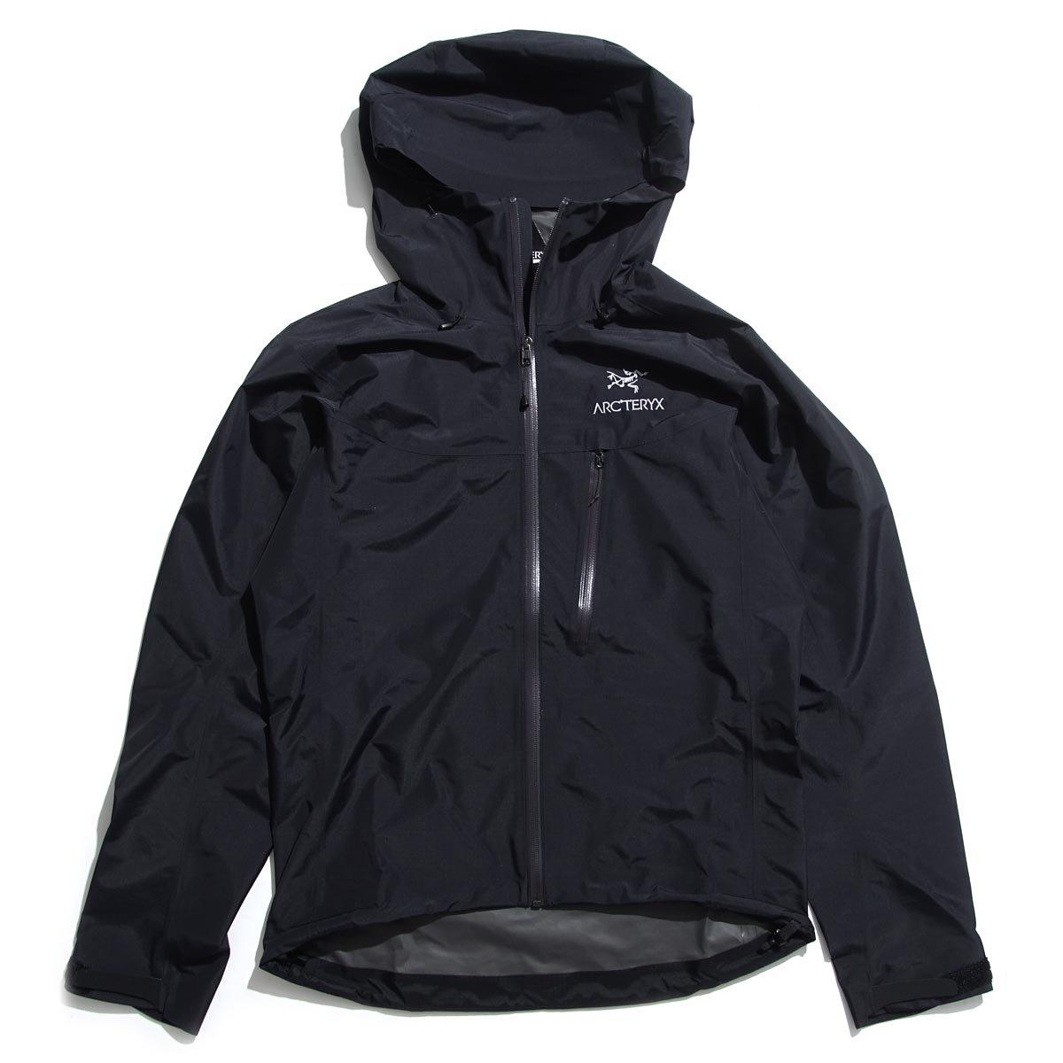 (アークテリクス) ARCTERYX フーデッド ジップアップ ブルゾン/ALPHA SL JACKET MEN'S アルファ SL ジャケット [並行輸入品] B07BZNCH8T XL|ブラック ブラック XL