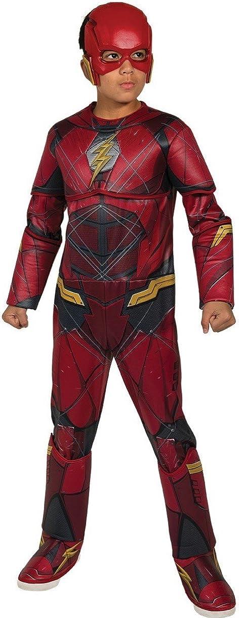 Boys Justice League Deluxe Flash Costume