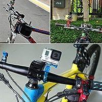 rungao abrazadera de soporte de bicicleta para GoPro soporte de ...