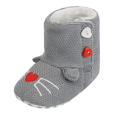 Botas de Bebe Invierno, Zapatos de Invierno cálido recién ...