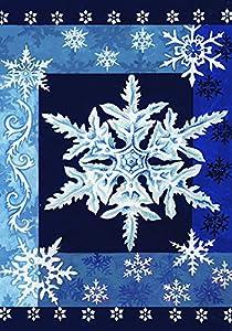 Amazon.com : Toland - Cool Snowflakes - Decorative Winter ...