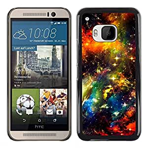 Be Good Phone Accessory // Dura Cáscara cubierta Protectora Caso Carcasa Funda de Protección para HTC One M9 // Universe Sky Cosmos Stars Space Nebula