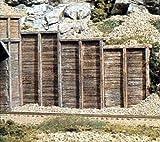 WOODLAND SCENICS C1160 Timber Retaining Walls (6) N WOOU1160