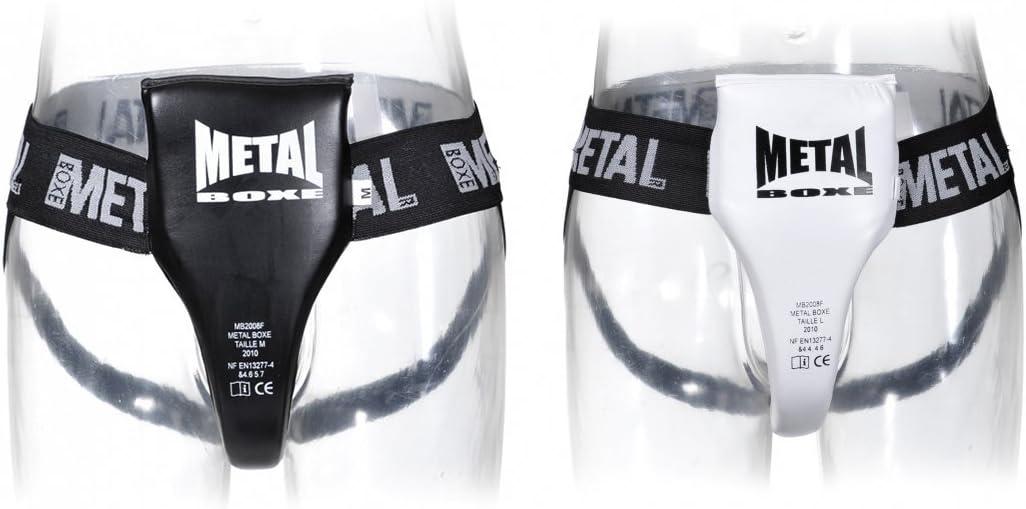 L METAL BOXE Semi-Pro Coquille Femme Noir
