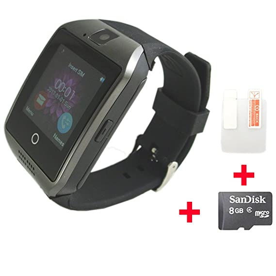 Amazon.com: OCTelect q18 smart watch with 500mah polymer ...