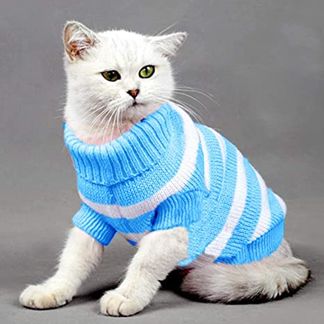 Yongqin suéter de Ropa para Gato, Disfraz de Gato de Invierno ...