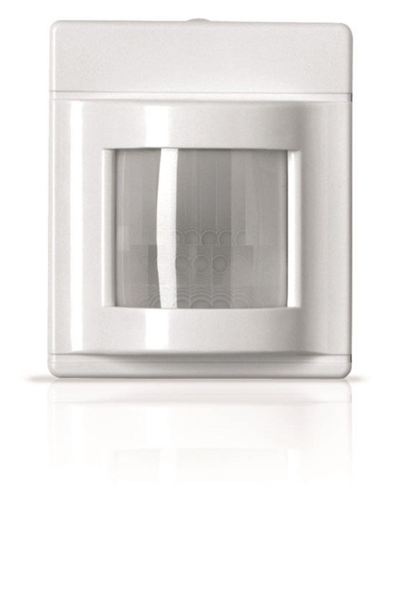 Sensor Switch WV 16 Corner Mount Low Voltage, Passive Infrared (PIR) Wide View Sensor, White