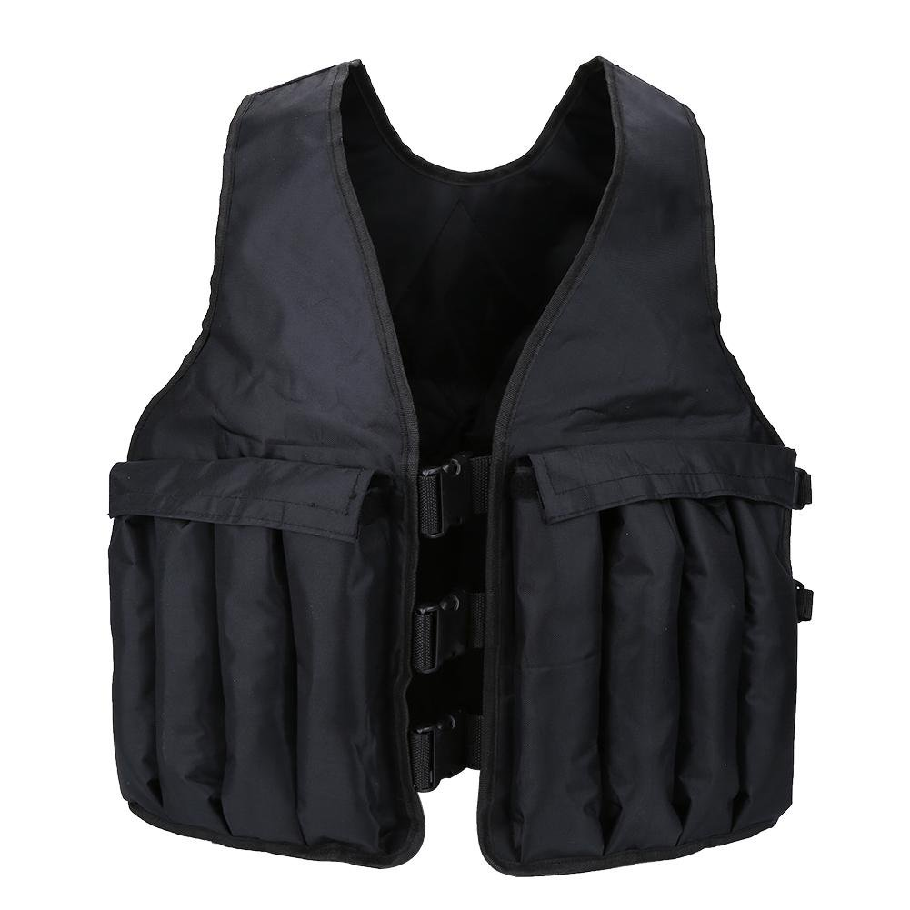 VGEBY 44lbs Adjustable Weighted Vest, Exercise Boxing Training Sand Vest for Strength Training by VGEBY