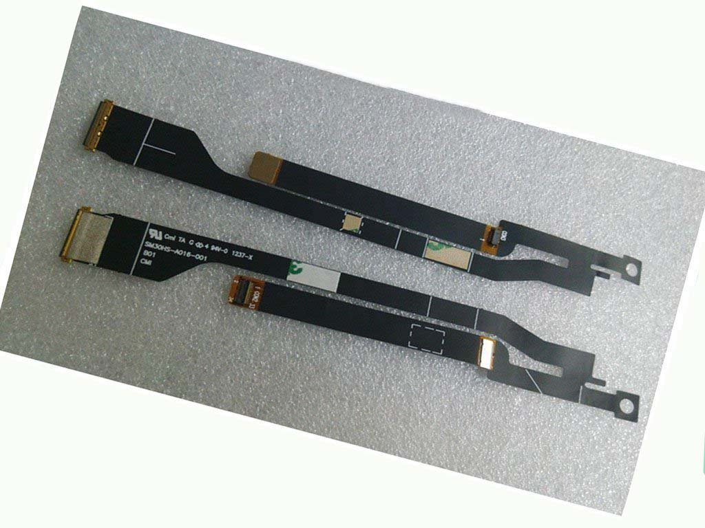 Nbparts New LCD cable for Acer Ultrabook S3-951 s3-951-2464G Ms2346 S3 with B133XW03 V.3 B133XTF01 laptop display cable sm30hs-a016-001 with 2 Points