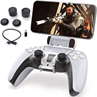 PS5 Phone Mount, Joso Controller Mobile Gaming Clip Holder Clamp for Sony Playstation 5 Dualsense Support iPhone…