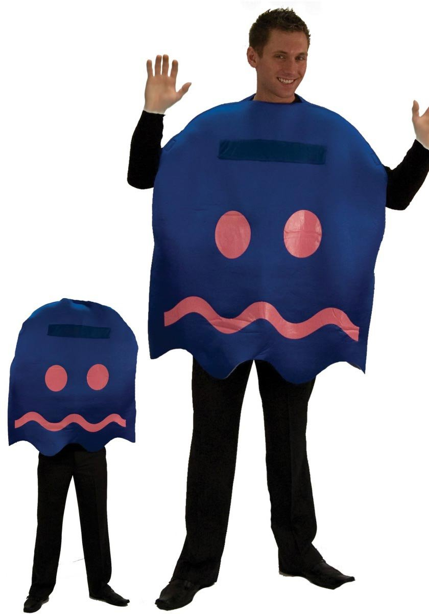 morris costumes PAC-MAN POWER PELLET GHOST DLX: Amazon.es ...