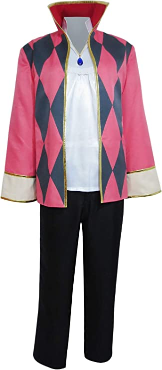 Howl Uniforms Full set Cosplay Costume Coat pants Hot! shirt