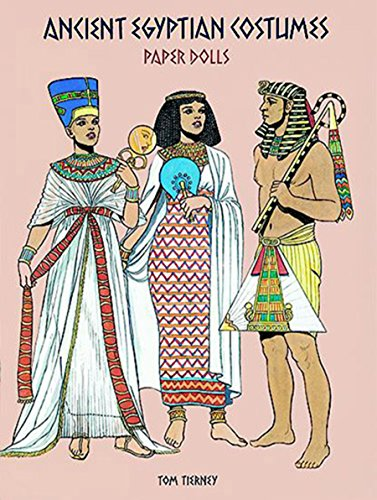 Ancient Egyptian Costumes Paper Dolls (Dover Paper