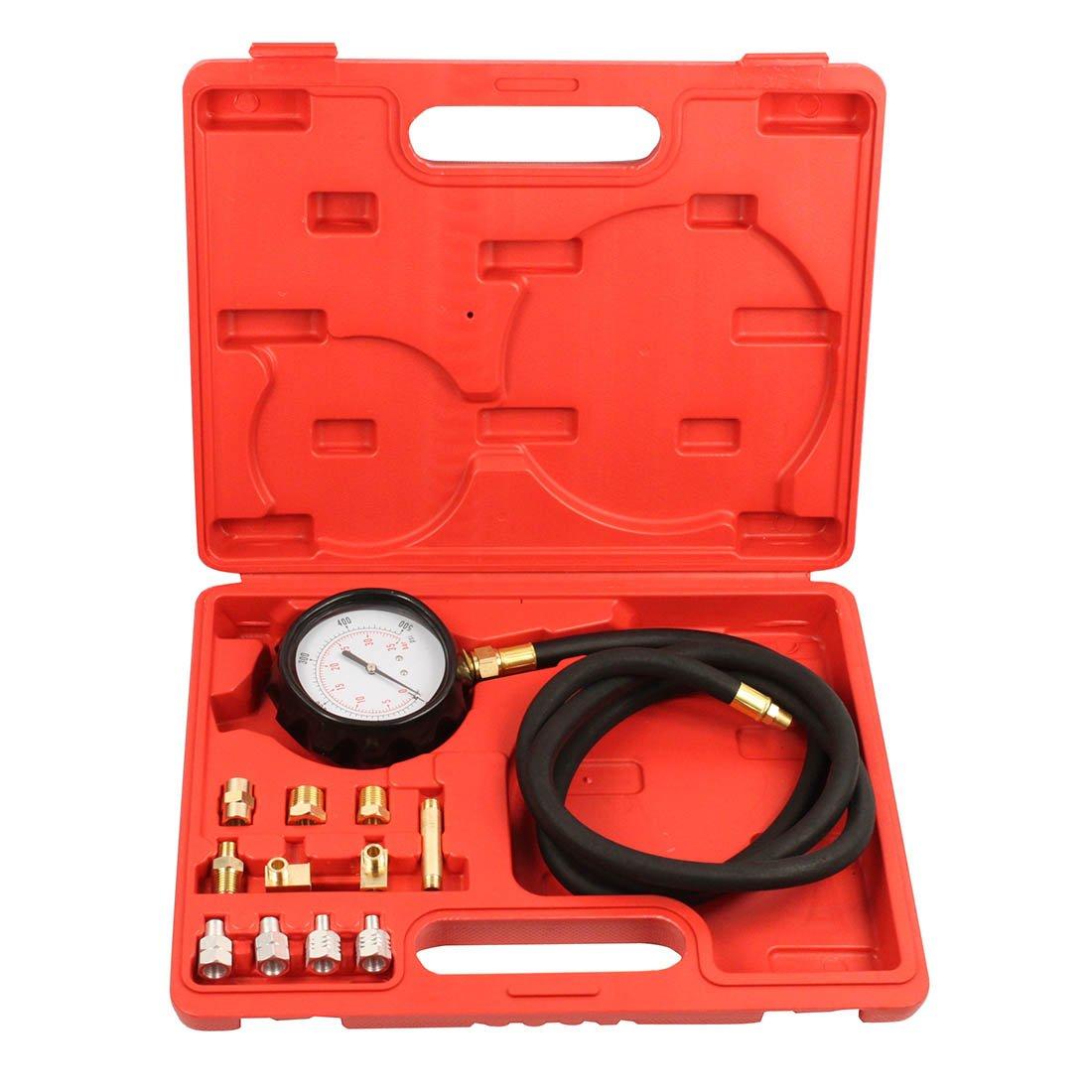Qbace Car/truck Diesel Petrol Wave Box Oil Pressure Meter Gauge Tester Tool Kit Set