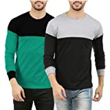 THE ARCHER Men's Cotton Full Sleeve Round Neck t-Shirts