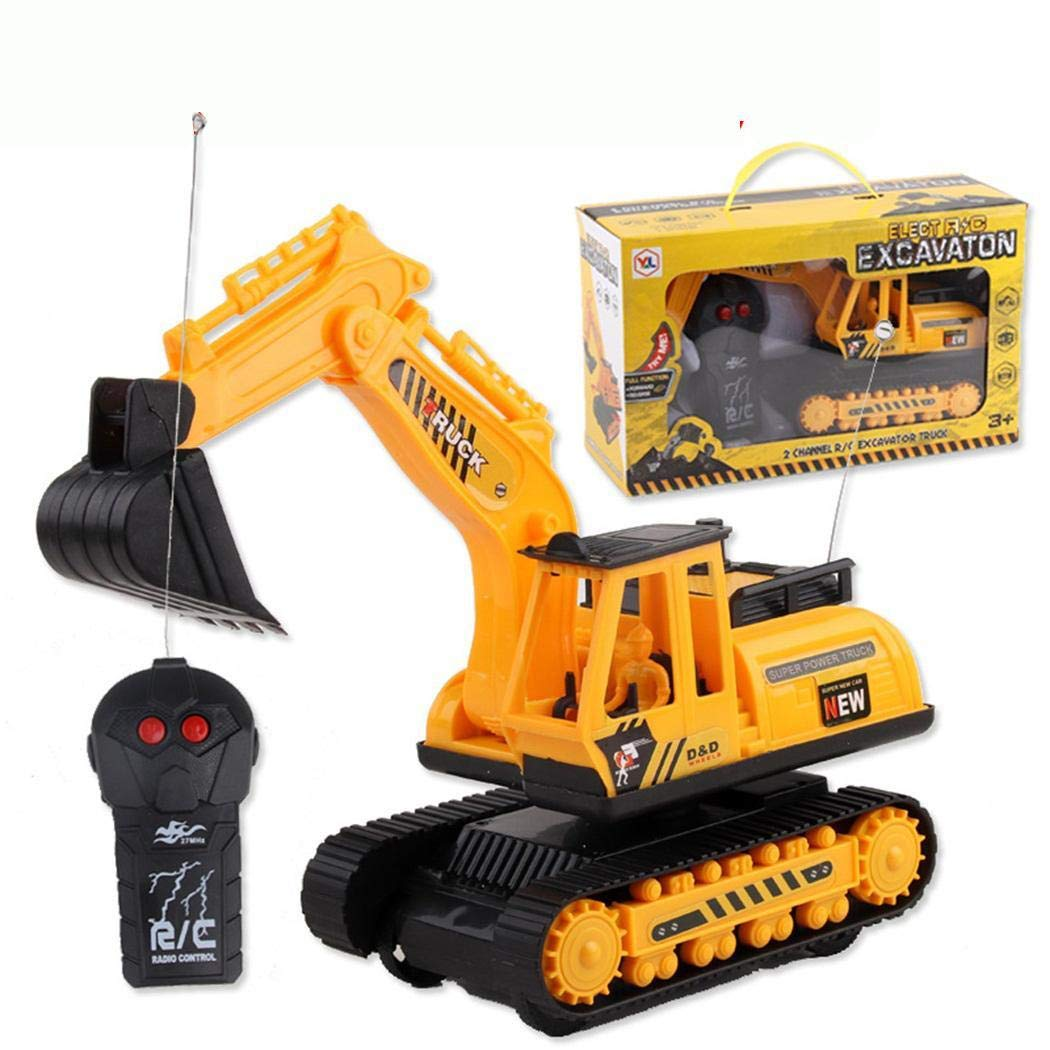 Benro Car Excavator Kids Toy Crawler Digger Electric 2 Channel Remote Control by Benro