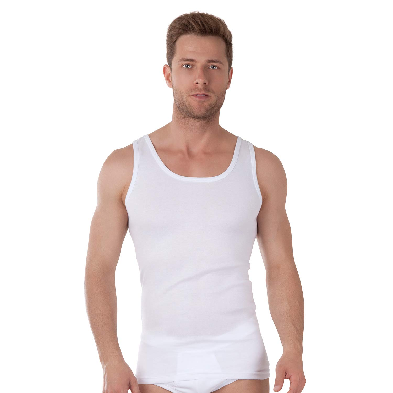 Bio Baumwolle Celodoro Exclusive Herren Unterhemd Doppelripp 5er Pack