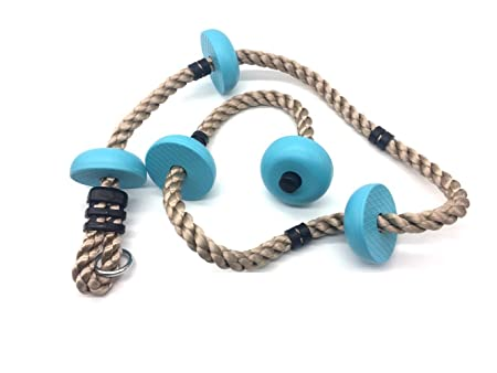 HappyPie Five Knotted Climbing Rope for Kids