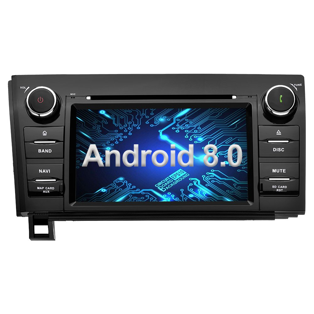 Amazon.com: Ohok Android 8.0 Oreo Car Stereo Double Din for Toyota Tundra/ Toyota Sequoia Head Unit 4G+32G with GPS and WiFi 8-Core DVD  Player,Supports ...